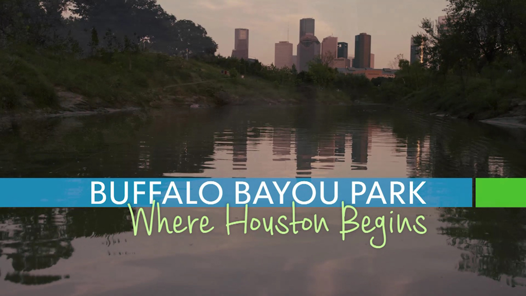 Watch Buffalo Bayou Park: Where Houston Begins, a TV special produced by KHOU 11.