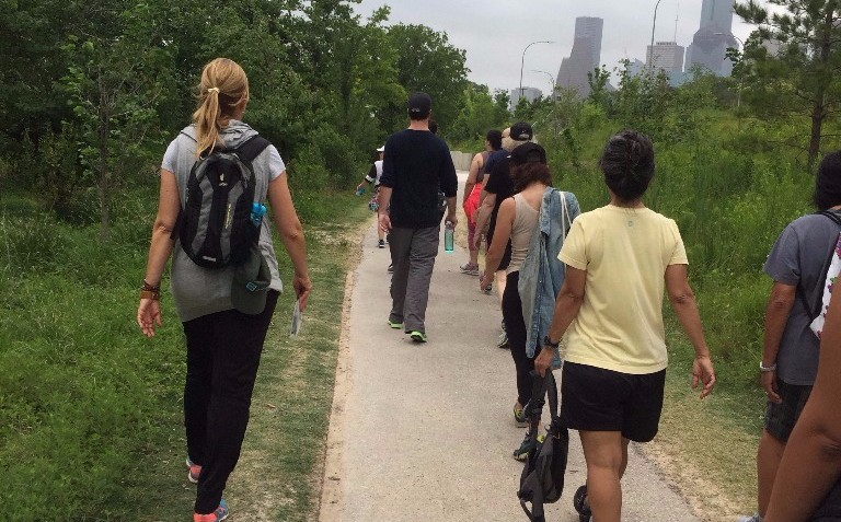 Buffalo Bayou Partnership Urban Paths Wellness Walk
