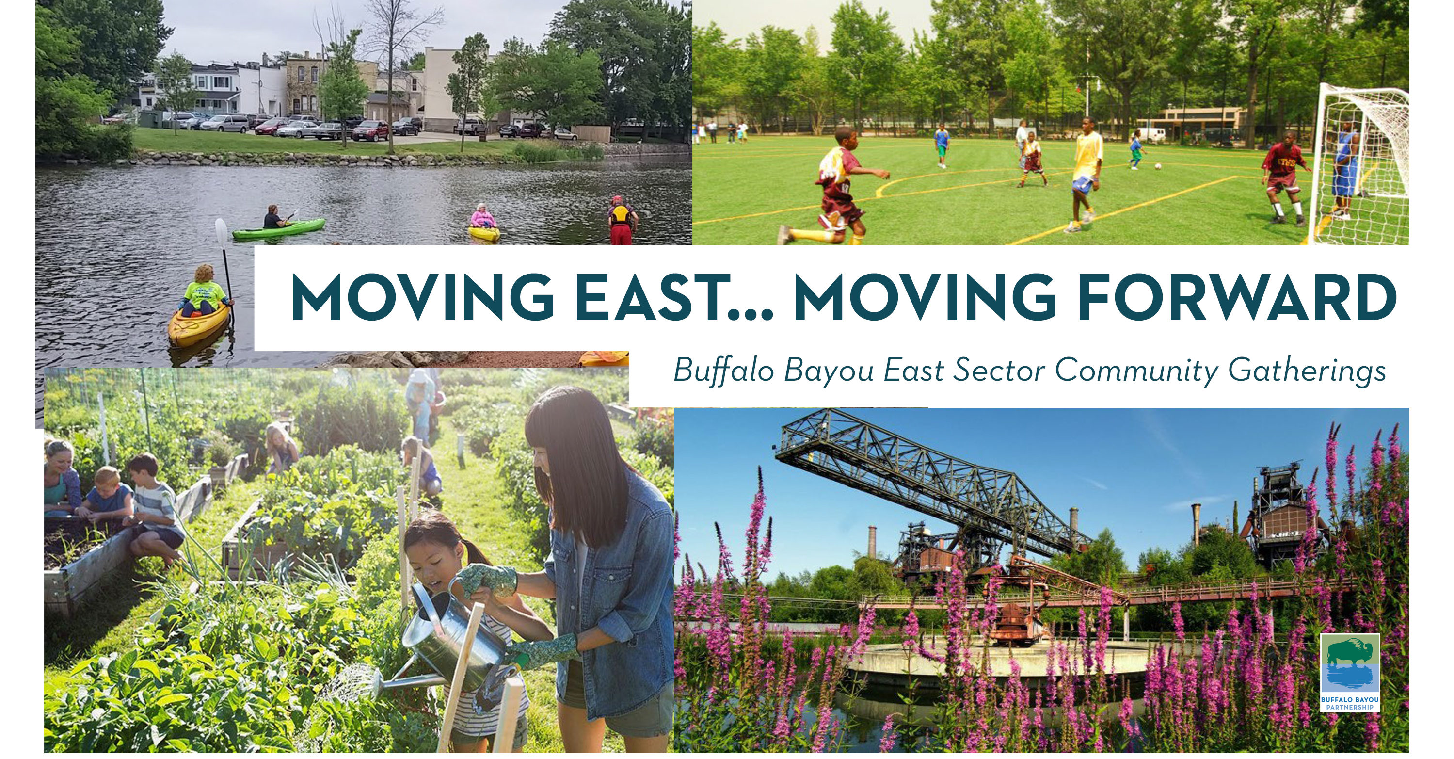 Moving East, Moving Forward: Buffalo Bayou East Sector Community Meeting @ The DeLuxe Theater | Houston | Texas | United States